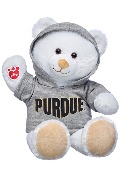 Purdue Build-A-Bear Marshmallow Cub, Click to See Larger Image