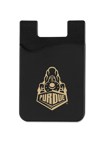 Purdue Silicone Phone Wallet, Click to See Larger Image