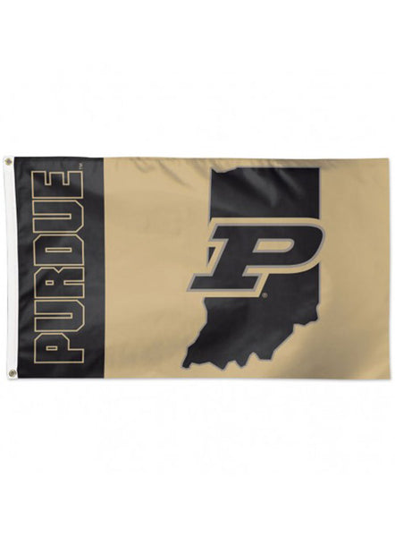 Purdue 3' x 5' Flag, Click to See Larger Image