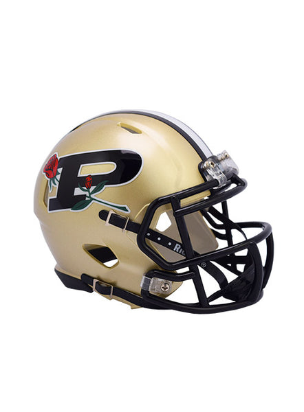 Purdue Riddell Rose Bowl Speed Mini Helmet, Click to See Larger Image