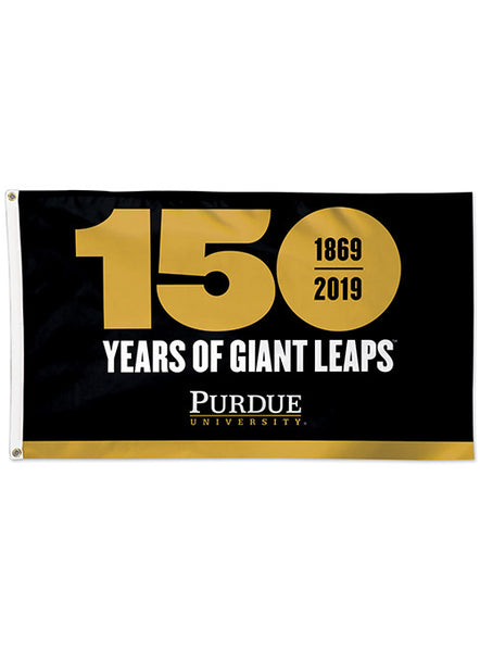 Purdue 150th Anniversary 3' x 5' Flag, Click to See Larger Image