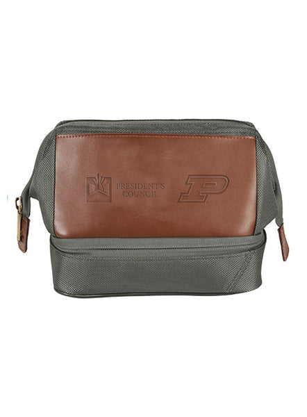Purdue President's Council Dopp Kit, Click to See Larger Image