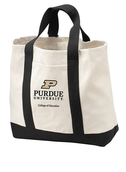 Purdue College of Education Tote Bag, Click to See Larger Image
