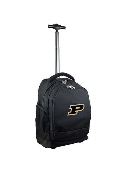 Purdue Premium Wheeled Backpack, Click to See Larger Image