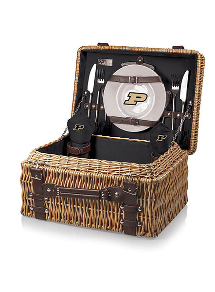 Purdue Picnic Basket, Click to See Larger Image