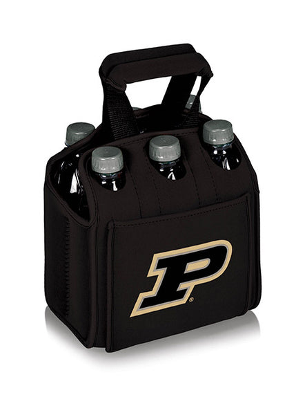Purdue Six Pack Beverage Carrier, Click to See Larger Image