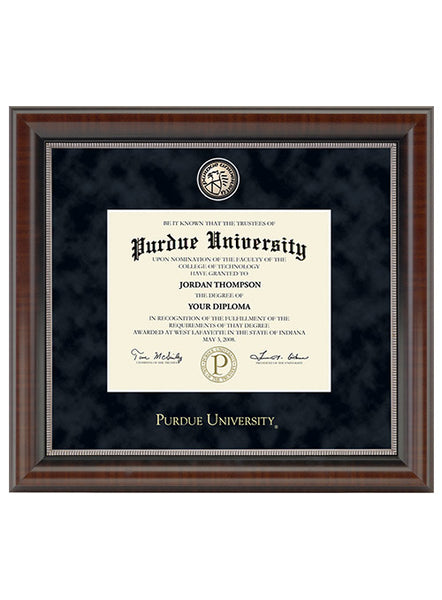 Purdue University Regal Master Piece Bachelor's Degree Diploma Frame, Click to See Larger Image