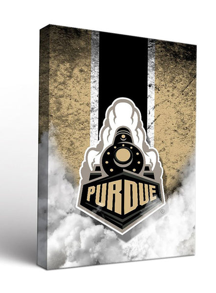 Purdue Vintage Design Canvas Wall Art, Click to See Larger Image