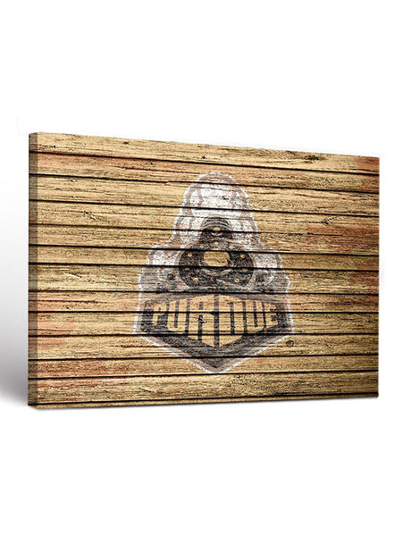 Purdue Weathered Design Canvas Wall Art, Click to See Larger Image