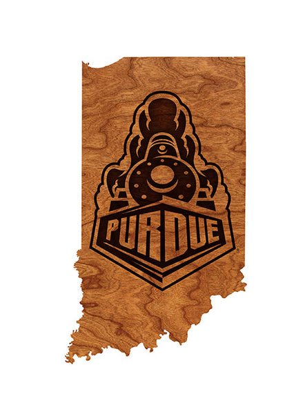 Purdue State Wall Hanging, Click to See Larger Image