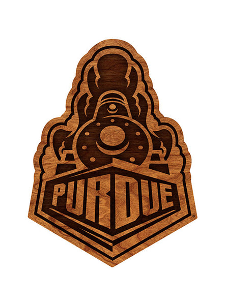 Purdue Train Logo Wall Hanging, Click to See Larger Image