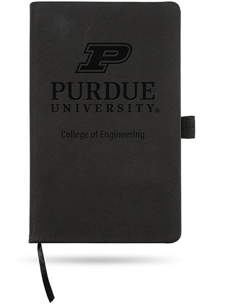 Purdue University College of Engineering Laser Engraved Notebook, Click to See Larger Image