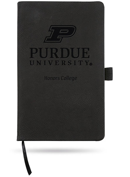 Purdue Honors College Laser Engraved Notebook, Click to See Larger Image