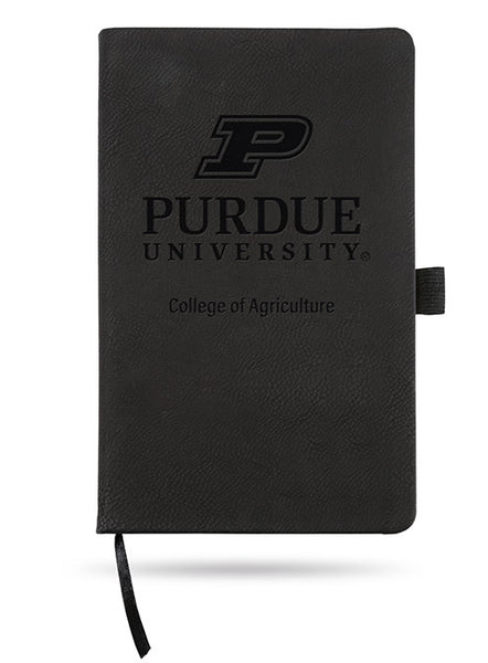 Purdue University College of Agriculture Laser Engraved Notebook, Click to See Larger Image
