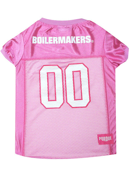 Purdue Pet Pink Jersey, Click to See Larger Image
