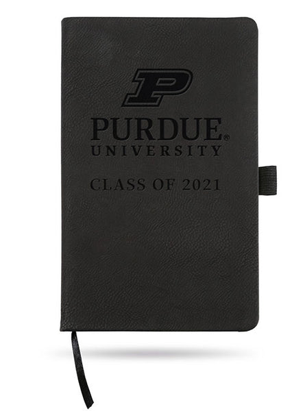 Purdue University Class of 2021 Laser Engraved Notebook, Click to See Larger Image