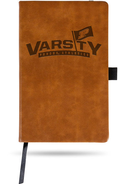 Purdue Varsity P Laser Engraved Notebook, Click to See Larger Image