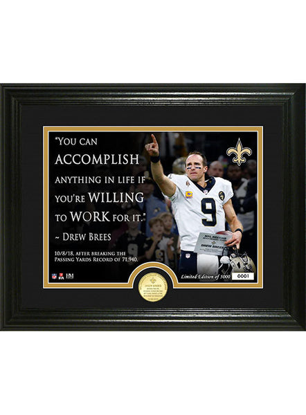 Drew Brees NFL Passing Yards Leader