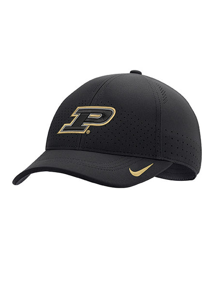 Youth Purdue Nike Sideline Legacy91 Adjustable Hat, Click to See Larger Image