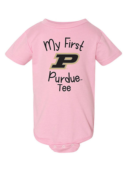 Newborn Purdue My First Onesie, Click to See Larger Image