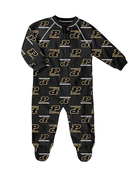 Infant Purdue Zip Up Coverall, Click to See Larger Image