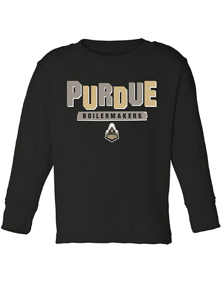 Toddler Purdue Boilermakers Long Sleeve T-Shirt, Click to See Larger Image
