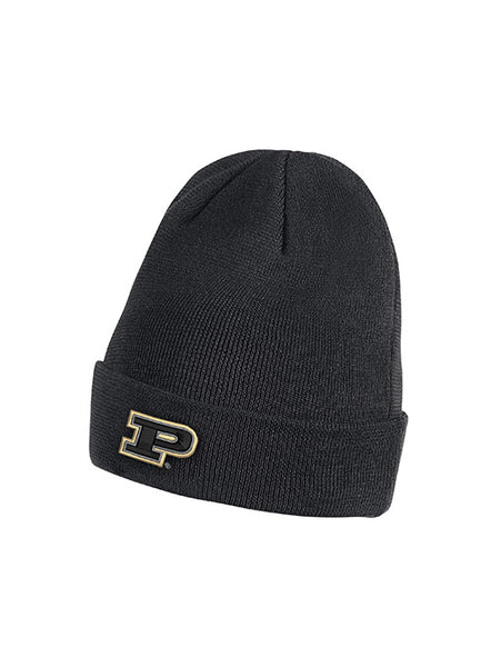 Youth Purdue Nike Sideline Dri-FIT® Beanie, Click to See Larger Image