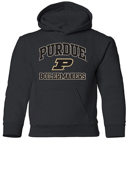 Youth Purdue Heart & Soul Hooded Sweatshirt, Click to See Larger Image