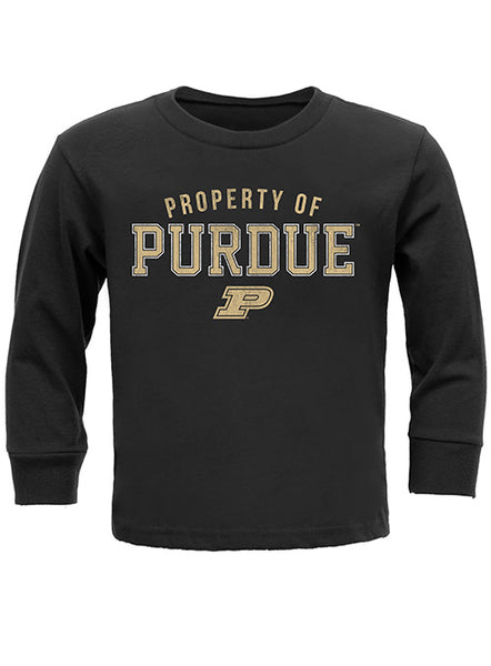 Youth Purdue Property of Long-Sleeve T-Shirt, Click to See Larger Image
