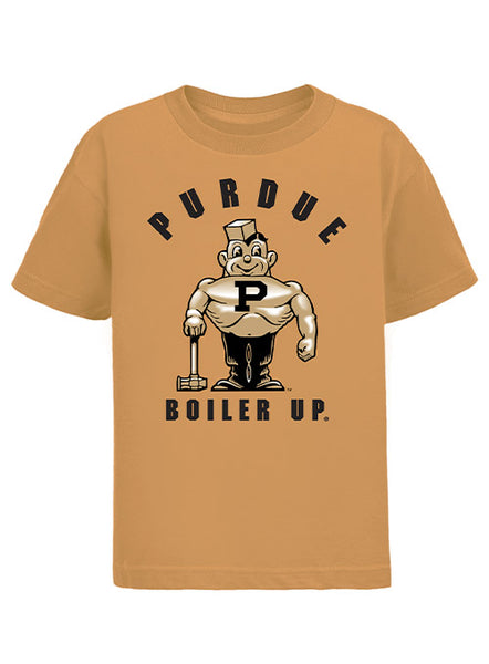 Youth Purdue Pete Boiler Up T-Shirt, Click to See Larger Image