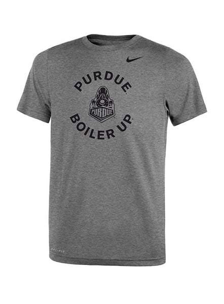 Youth Purdue Nike Sideline Dri-Fit® Legend Lift T-Shirt, Click to See Larger Image