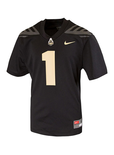 Youth Purdue Nike #1 Football Jersey, Click to See Larger Image