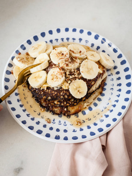 Easy 3-Step Protein Banana Pancakes
