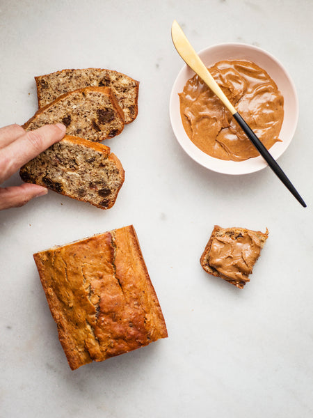 Raisin Pecan Protein Bread