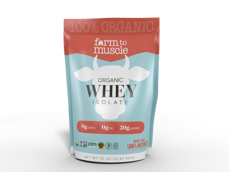 Organic Unflavored Whey Protein