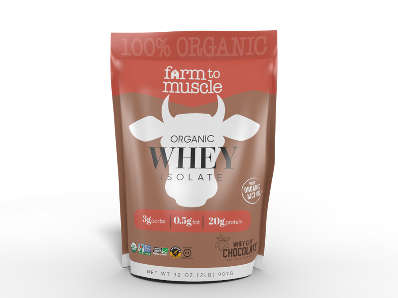 Organic Chocolate Whey Protein