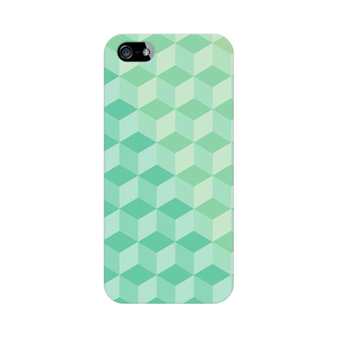3D Cubes Apple iPhone 5/5s Abstract Mobile Cover Fully Funky