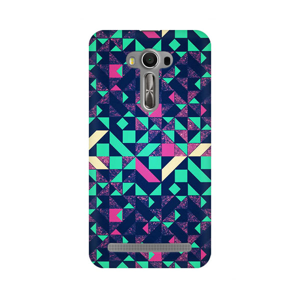Abstract Wookmark Asus Zenfone 2 Laser ZE500KL Abstract Mobile Cover Fully Funky