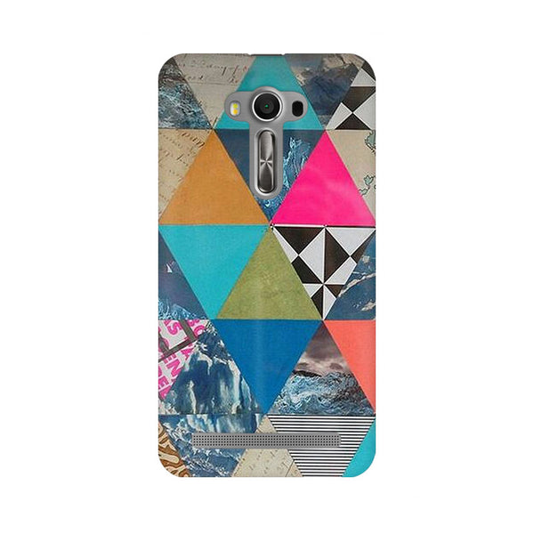 Abstract Fusion Hex Asus Zenfone 2 Laser ZE500KL Abstract Mobile Cover Fully Funky