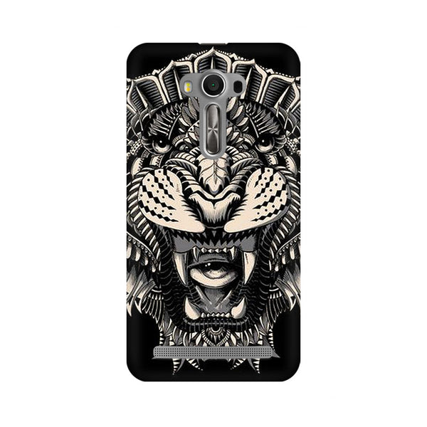 Abstract Tiger Asus Zenfone 2 Laser ZE550KL Animal Mobile Cover Fully Funky