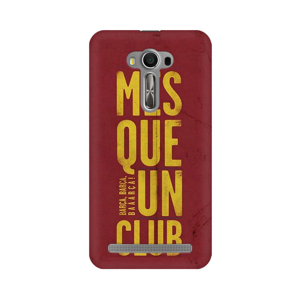 Barca Barca Asus Zenfone 2 Laser ZE550KL Sports Mobile Cover Fully Funky