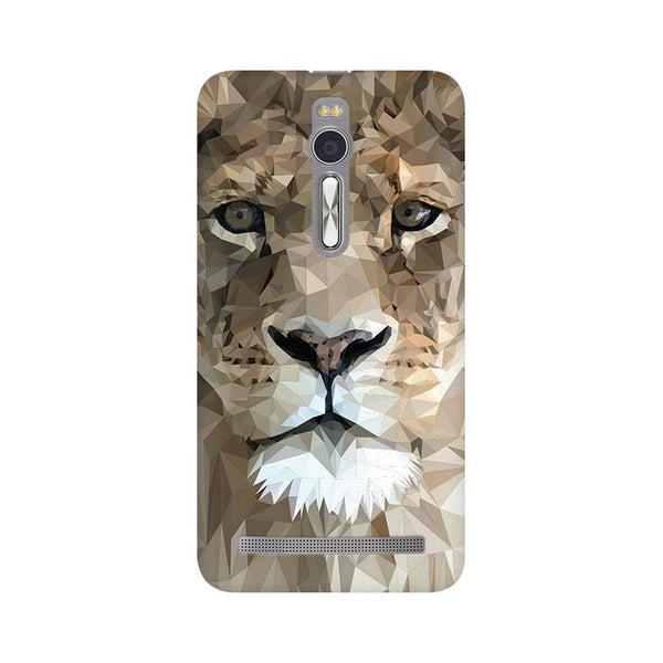 Abstract Lion Asus Zenfone 2 Animal Mobile Cover Fully Funky