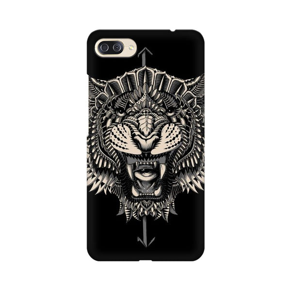 Abstract Tiger Asus Zenfone 4 Max ZC554KL Animal Mobile Cover Fully Funky