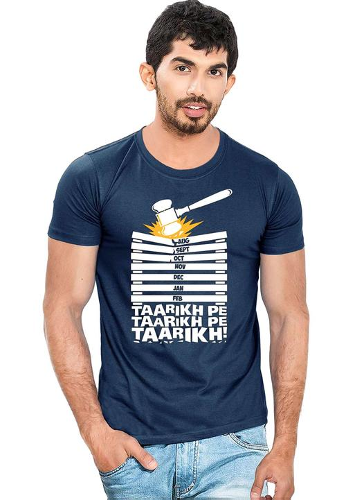 6e17e22b7a1 Buy Taarikh Pe Taarikh Printed Men T-shirt at Fully Funky