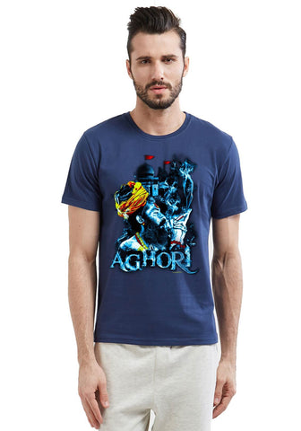 Aghori Printed Men T-shirt Fully Funky