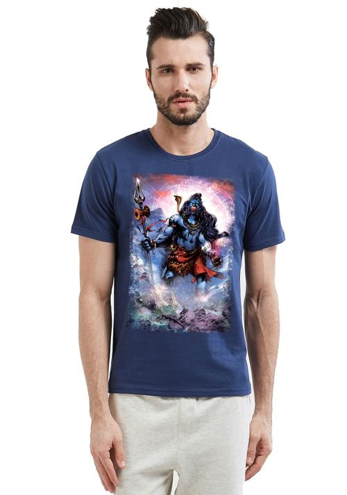 ae7c1585e88 Buy Shiva Printed Men T-shirt at Fully Funky