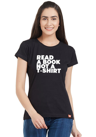 Read A Book Printed Women Top