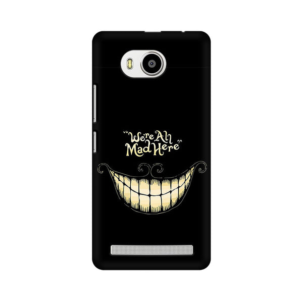 All Are Mad Lenovo A7700 Sarcasm Mobile Cover Fully Funky