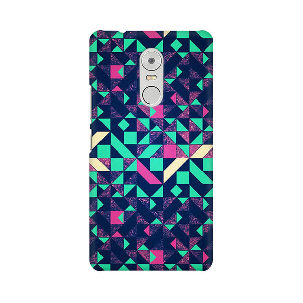 Abstract Wookmark Lenovo K6 Note Abstract Mobile Cover Fully Funky