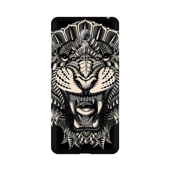 Abstract Tiger Lenovo Vibe P1 Animal Mobile Cover Fully Funky